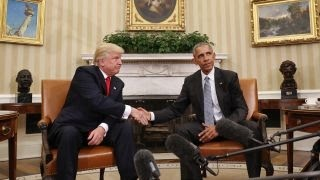 Download Obama, Trump discuss peaceful transition of power at White House Video