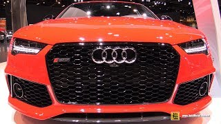 Download 2017 Audi RS7 - Exterior and Interior Walkaround - 2017 Chicago Auto Show Video