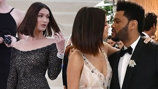 Download Selena Gomez Says ″I Love You″ to The Weeknd Right IN FRONT of Bella Hadid's Family at the Met Gala! Video