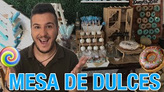 Download DIY 🍭 MESA DE DULCES VINTAGE | BABY SHOWER NIÑO | SOY DE AMARTE | MESA DE POSTRES 🍩 Video