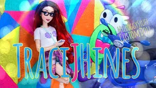Download DIY - How to Make: TraciJHines Hipster Mermaid Custom Doll | Ombre Hair | Graphic Tee & More Video