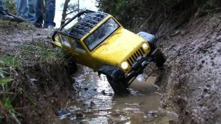 Download Jeep rc 4x4 scaler - canalone 1 Video