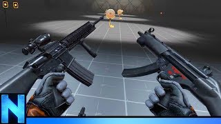 Download Testing The BEST VR GUNS Ever Made! Video