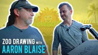 Download Zoo Sketching with Aaron Blaise - Drawing Lions, Tigers and Bonobos Video