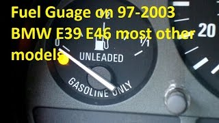 BMW e36 Gauges Problem - temp fuel speedo odometer - fix - part 2