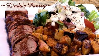 Download ~ Smoked Bacon Wrapped Pork Tenderloin With Linda's Pantry~ Video