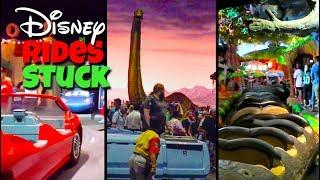 Download Top 10 Disney Ride Break Downs | Stuck on Disney Rides Video