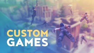 Download CUSTOM GAMES - EXCLUSIVE ACCESS! (Fortnite Battle Royale) Video