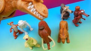 Download 2009 ICE AGE DAWN OF THE DINOSAURS HAPPY MEAL SET OF 8 TOYS VIDEO REVIEW Video