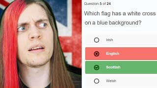 Download English guy takes English citizenship test Video