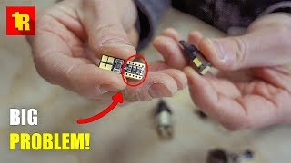 Download BIGGEST PROBLEM With LED REPLACEMENT BULBS In Your Car Or Truck!!! Video
