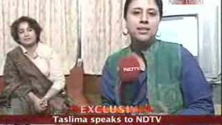 Download I don't want to leave India: Taslima Video