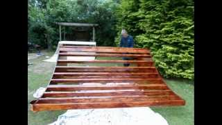 Download Building a 3ft mini ramp Video