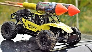Download EXPERIMENT Rocket POWERED CAR !!! Video
