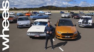Download Ford Falcon XY to FG: Behind the Scenes | Wheels Plus | Wheels Australia Video
