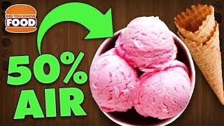 Download Ice Cream is 50% Air (Ice Cream Facts) - Did You Know Food Feat. Lazy Game Reviews (LGR Foods) Video