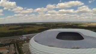 Download Allianz Arena - Monaco di Baviera con Drone DJI Phantom Video