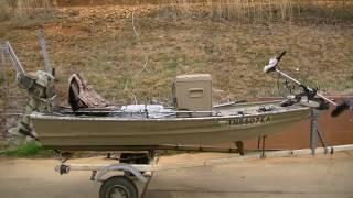 Download Best 10-foot jon boat setup ever! Video