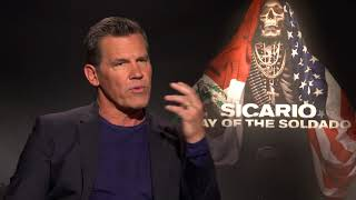 Download Sicario 2 Interview: Josh Brolin Video