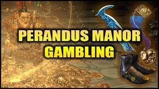 Download Path of Exile: Epic Perandus Manor Jambling Session - 7 Maps, 10+ Exalts Video