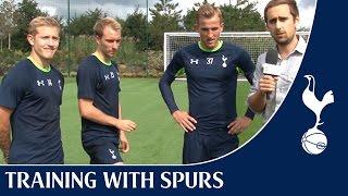 Download Spurs Crossbar Challenge ft. Eriksen, Holtby & Kane Video