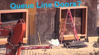 Download Star Wars Land: Construction Update - 4/23/2017 ~ New Queue Line Doors? GoTG - Chipped Paint? Video