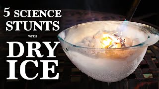Download 5 Phenomenal Science Stunts, Done with Dry Ice Video