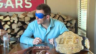 Download We blindfolded Stipe Miocic and Junior dos Santos for a UFC 211 Texas BBQ Challenge Video