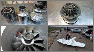 Download От постройки Турбо Реактивного двигателя до полета - всего один шаг Video