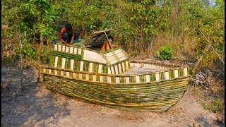 Download Build Boat House Using Bamboo Video