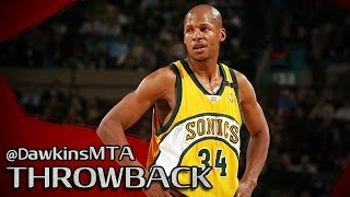 Download Ray Allen Full Highlights 2005 Playoffs R1G4 at Kings - 45 Pts, BEST Shooter EVER! Video