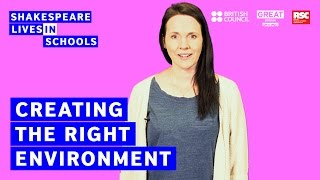 Download How to teach Shakespeare: creating the right environment Video