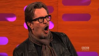 Download GARY OLDMAN on His Screaming Role in CALL OF DUTY - The Graham Norton Show on BBC AMERICA Video
