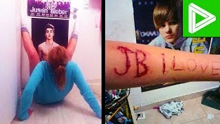 Download 10 INSANE Justin Bieber Fans You Won't Believe Exist! Video