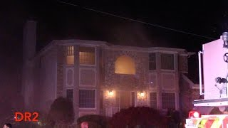 Download Clifton Fire Department 2nd Alarm Working Structure Fire 19 Churchill Dr 11-11-16 Video