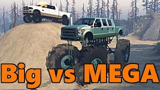 Download Spin Tires | Big Truck vs MEGA TRUCK Video