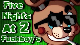 Download Five Nights At Fuckboy's 2 (Part 1) - It's Time To Yiff Some Dicks! Video
