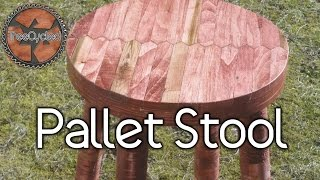 Download Stool Built From 100% Pallet Lumber. Video