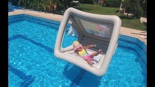 Download Havuzda oyun evi balina deniz aslanı ve kaplan hayvanlar alemi , eğlenceli çocuk videosu Video