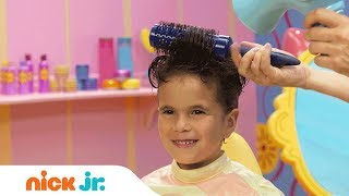 Download How to Make a Pompadour Hairstyle 🕶️ Style Files Hair Tutorial | Sunny Day | Nick Jr. Video