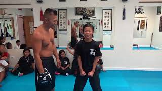 Download Kids Kung Fu - Iron Stomach Challenge Video