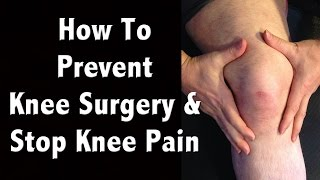 Download How to Prevent Knee Surgery and Natural Pain Management of Chronic Knee Pain Video
