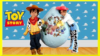 Download GIANT EGG SURPRISE OPENING Disney Toy Story Toys Kids Video Super Giant Surprise Egg Biggest Egg Video