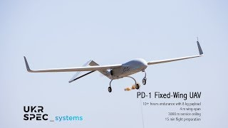 Download PD-1 fixed-wing UAV by Ukrspecsystems Video