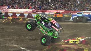 Download Monster Jam Grave Digger Freestyle Tampa, Florida - February 2013 Video