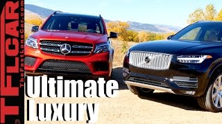 Download 2017 Mercedes-Benz GLS vs Volvo XC90 T6 Mashup Review: The Best European Luxury SUV is... Video