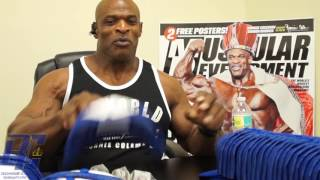 Download Black Friday FREE Autographed Items| Ronnie Coleman Video