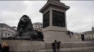 Download Trafalgar Sq, Leicester Sq and Piccadilly Circus - London, UK Video