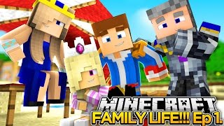 Download MINECRAFT FAMILY LIFE!! (EP.1) - LITTLE DONNY'S FAMILY VACATION!!! Video