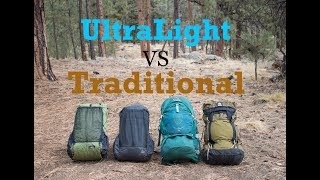 Download Ultralight Vs Traditional Packs - What's the Best for you? Video